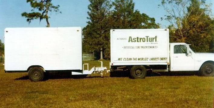 Judson Astro Turf Truck